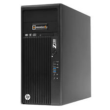 HP Z230 WORKSTATION INTEL CORE I5-4570 RAM 16GB SSD 256 GB Quadro K2000 WIN10