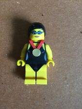 Lego Mini figure Series 7 Female Swimmer