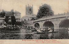 BR74434 bridge church and angel hotel henley on thames   uk