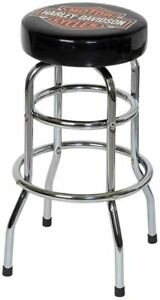 New Harley Davidson Motorcycle BarStool Street Glide Shop HD Bar Stool WorldShip