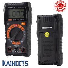 Kaiweets Digital Lcd Led Multimeter Tester Voltmeter Ammeter Ac Dc Amp Batteries