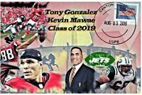 2019 Football HoF Induction 4x6 Postcard Size Glossy Variation Listing
