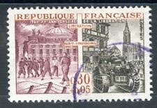 STAMP / TIMBRE FRANCE OBLITERE N° 1410 LIBERATION A PARIS