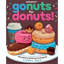 Gamewright 111 Go Nuts for Donuts Game Standard