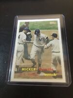 Mickey Mantle 2008 Topps Card No. MMS72 New York Yankees Babe Ruth Collector Rp