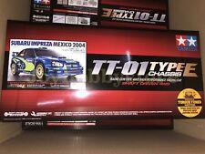 Tamiya 47372 1/10 RC Subaru Impreza Mexico 2004 - TT01E On Road Kit