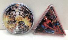 Lot 2 Jeux de billes : Spider-man & labyrinthe Action Man - TBE