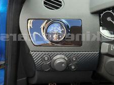 Vauxhall Astra H de ventilación de aire Calibre Pod Adaptador Lhd brillante negro plástico ABS Inc Vxr