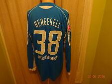 Bayer 04 Leverkusen ADIDAS Manica Lunga Maglia Matchworn 05/06 +nr.38 Hergesell Taglia XL