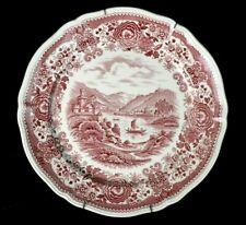 """VTG Villeroy & Boch transferware BURGENLAND Wall Decor Plate Dinner Plate 10"""""""