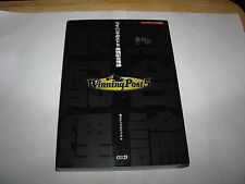 Winning Post 5 Playstation 2 Guide Book Japan import
