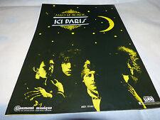 ICI PARIS - Publicité de magazine / Advert ALLO LE MONDE !!!!!!! NOIR !!!