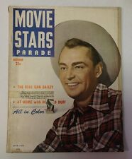 Movie Stars Parade Magazine   October 1949   Alan Ladd Cover