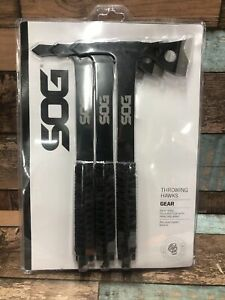 """D9 SOG THROWING HAWKS TH1001-CP STAINLESS STEEL 10.75"""" FULL TANG"""