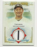 2020 Topps Allen Ginter MASAHIRO TANAKA Full-Size Relic B Yankees Jersey Stripe