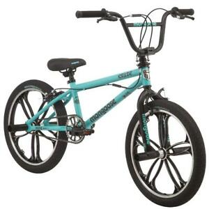 Craze Freestyle BMX Bike 20 Inch Mag Wheels 4 Freestyle Pegs Ages Six And Up
