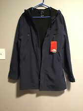 The North Face Mens Apex Bionic Trench Jacket Blue size MEDIUM URBAN NAVY $199