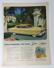 Original Print Ad 1952 NASH Golden AIRFLYTE Vintage Auto Ambassador Car