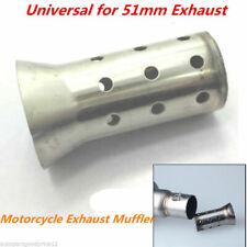 Motorcycle Exhaust Muffler Can Insert Baffle DB Killer Silencer 51mm Universal