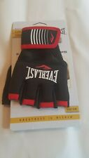 Everlast Boxing Core Hand Wraps, Black and Red Size S/M NEW - Free Ship