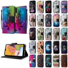 "For Samsung Galaxy A01 5.7"" 2019 Luxury Flip Card Slot Wallet Pouch Case Cover"