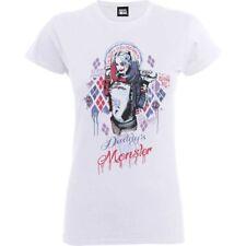 Dc Comics Women's T-shirt Suicide Squad Daddy's Lil Monster M - Womens Tshirt
