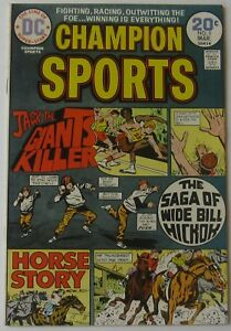 Champion Sports #3 (Feb-Mar 1974, DC), NM condition, last issue of the series