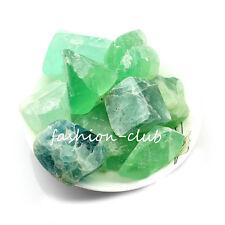 50g Lots Natural Quartz Crystal Gemstone Rock Raw Stone Rough Healing 6Colors