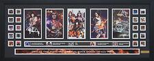 Kiss Limited Edition Signed Framed Memorabilia Black