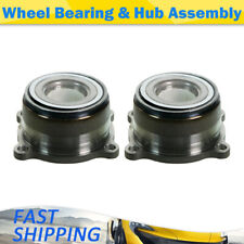 MOOG Rear Wheel Bearing and Hub Assembly 2 PCS For Frontier