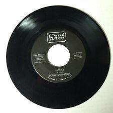 """Bobby Goldsboro - Honey / Danny [vinyl - 7""""] 1968 United Artists UA 50,283"""