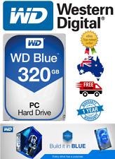 """Western Digital Blue 320Gb 3.5"""" SATA Internal Hard Drive Brand New 7200RPM"""