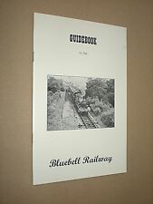 GUIDEBOOK TO THE BLUEBELL RAILWAY. circa 1960's. ILLUSTRATED BOOKLET.