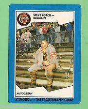 1989  BALMAIN TIGERS  STIMOROL RUGBY LEAGUE CARD #22  STEVE ROACH