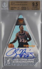 2011-12 PANINI'S CHOICE AWARD AUTO: ALONZO MOURNING #9/10 AUTOGRAPH BGS 9.5 GEM