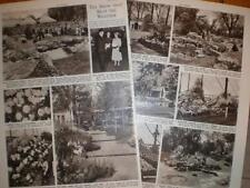 Photo article Chelsea Flower Show London UK 1955