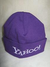 "Yahoo Cap / Beanie ""ONE"" (NWO) Infant 0-3 Months Nylon, Purple, Solid / Unisex"