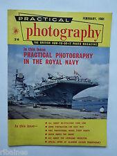 Practical Photography Magazine February 1961, Navy Photo's/Liesegang Proj...R&L