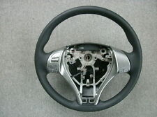 2013 NISSAN ALTIMA BLACK VINYL STEERING WHEEL 48430-3TA6A