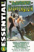 Essential Monster of Frankenstein Vol 1 Buscema Moench Ploog 2004 TPB Marvel OOP
