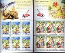 Romania STAMPS 2010 CEPT Europe sheets MNH kids books dragon fantasy birds
