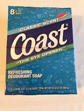 Coast Deodorant Bath Soap 8 - 4oz. Bars Classic Scent - The Eye Opener