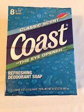 Coast Deodorant Bath Soap 8 - 4oz. Bars Classic Scent - The Eye Opener