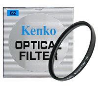 KENKO 62 MM DIGITAL UV FILTRO DE PROTECCIÓN PROFESIONAL - HECHO EN JAPÓN