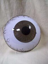 Creepy Giant Eyeball Costume Mask Horror Eye Face Haunted Prop Seer Veined Look