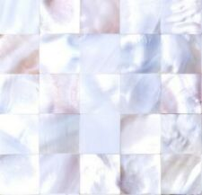 Sample of Mother of Pearl Sea Shell Mosaic Tiles sheet 0160
