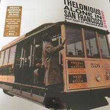 Thelonious Monk Thelonious Alone In San Francisco Deluxe Gatefold 180g vinyl LP