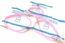 3D Dental The Essentials Bib Clips Non Chill Autoclavable Pink #BCNPK 3 Per Bag