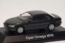 Schuco 04022 Opel Omega B Limousine 1:43,Dunkelgrau, Modellauto, OVP/RAR
