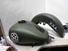 HARLEY 2008 FLHTCU EFI FUEL GAS TANK  DAVIDSON Army Green